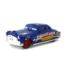 Disney Pixar Cars Fabulous Hudson Hornet Metal Diecast Toy Car 1:55 Loose Brand New In Stock & Free Shipping(China)