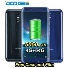 "Original DOOGEE BL5000 4G Mobile Phones 5050mah Android 7.0 4GB+64GB Octa Core Smartphone Dual Back Cameras 13MP 5.5"" Cell Phone"