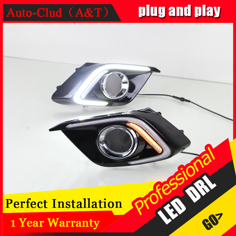Auto Clud car styling For Mazda 3 Axela LED DRL For 3 Axela led fog lamps daytime running light High brightness guide LED DRL C<br><br>Aliexpress