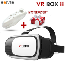 Selvte Brand Virtual Reality VR BOX 2.0 II Google 3D Glasses Headset Helmet Glasses Universal for Smart Phones Iphone Android