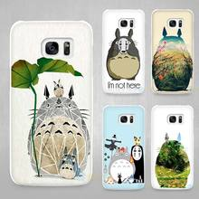 My Neighbor Totoro Studio Ghibli Hard White Coque Shell Case Cover Phone Cases for Samsung Galaxy S4 S5 S6 S7 Edge Plus