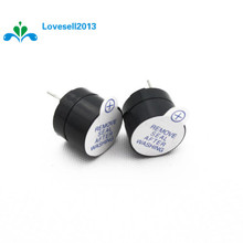 10pcs 5v Active Buzzer Magnetic Long Continous Beep Tone Alarm Ringer 12mm MINI Active Piezo Buzzers Fit For Computers Printers