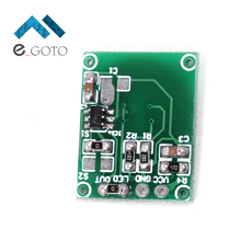 DC 3.3-5V Capacitive Touch Switch Touching Button Key Sensor Switch Module Light Control(China)