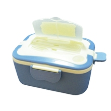 Lunchbox Food Warmer Lunch Bento Box 12V Electric Portable Food Heater Fresh Keeper Food Container Dining Table Dinnerware Set