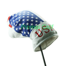 Guiote Boxing Style with the US Star Flag Pattern Glove Drive Golf Club Putter Head Cover