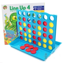 Free shipping Connect Four Line up 4 chess game 3.5 x26.5x27 cm Boxed Interactive intelligence board game for family kids toy(China)