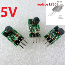 3pcs 5W 9V 12V 24V to 5V DC DC Step-Down Buck Converter Module replace TO-220 7805 lm2596 for Arduino nano Pro Mini UNO stm32