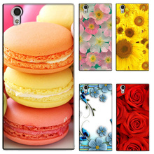 Buy Cute Cartoon Case Coque Lenovo P70 P70T P70-T Colorful Flower Printing Back Cover Funda Lenovo P70 P70T P70-T Case Capa for $2.99 in AliExpress store
