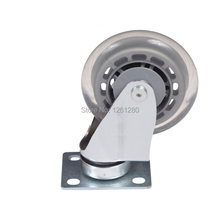 free shipping 75mm furniture caster Medical   chair universal nylon caster swivel bed Equipment wheel hardware trolley pulley