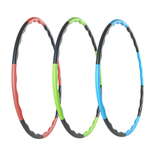 Disassemble Health Hula Hoop Weighted Fitness Exercise Diet hula hoop massage hoop hula-hoop for children kid women bodybuilding(China)