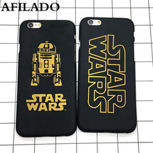 Fashion Star Wars Slim Hard Matte Plastic Back Cover for iPhone 6 6s Phone Case Luxury Movie Film Ultra Thin Shell Capa(China)
