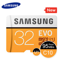 SAMSUNG Memory Card EVO 32GB 95MB/s C10 SDHC Micro SD Class 10 UHS TF Trans Flash Storage Device for Smartphone 2017 New Model(China)