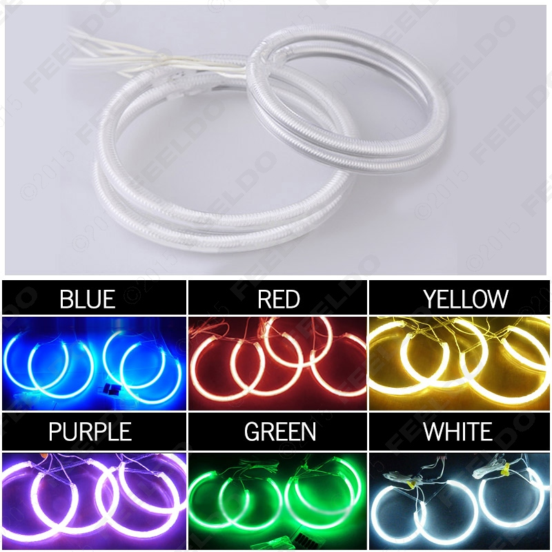 3Set Car 6-Color Headlight CCFL Angel Eyes Halo Rings For BYD F6(2008-2012) #J-3295<br><br>Aliexpress