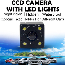 HD Night Vision 2.5mm AV-In Port 12V Waterproof Car Rear Camera Auto Back Camera Backup Camera For Car Rear View Mirror DVR(China)