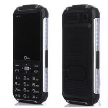 Original Oeina XP6000 Dual Torch Rugged Outdoor Mobile Phone Metal Side Power Bank GSM Senior old man cell Phone Dual