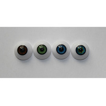 2 Pair Lifelike 22 mm Acrylic Eyes As 22'' Reborn Baby Doll Accessories High-quality Half Round Eyeball 6 Colors Can Choose Hot(China)