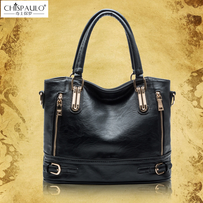 CHISPAULO Designer Women Handbags Brand Lady Bags For Womens shoulder/crossbody Messenger Crocodile Bags<br>