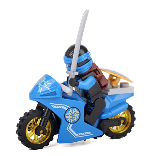 Jkela-Compatible-With-legoINGly-Ninjagoed-Mini-Blocks-Jay-Lloyd-Skylor-Zane-Pythor-Chen-Building-Blocks (1)
