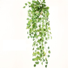 Hang at the wall 1x Green Imitation Bonsai Fern Plastic Artificial Grass Leaves Plant for Home Wedding Decoration Arrangement Gr