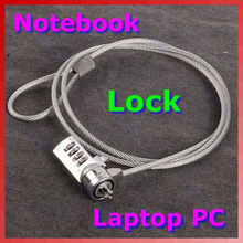HOT  4 Digit Security Password Computer Lock Anti-theft Chain For Laptop Notebook PC #C