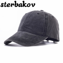 Hot fashion Plain dyed soft cotton cap/ blank baseball caps for men and women/ mens' cap without embroidery!(China)