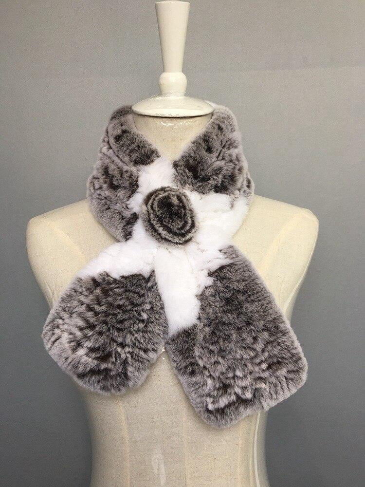 natural rabbit fur scarves (7)