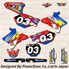 WR YZ YZF 125 250 400 450  Team Graphics Backgrounds Decals Stickers  Motor cross Motorcycle Dirt Bike MX Racing Parts YGR030