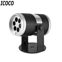 ICOCO 4W LED AC100-240V Voice Sound Control Projector Bulb Light for Holloween Christmas Festival Party Holiday Decor US Plug