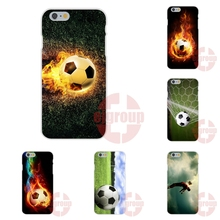 For Huawei Honor P7 P8 P9 Lite Plus 6 6X 7 V8 Mate 7 8 9 G7 G8 Y3II Y5II Soft TPU Silicon Cover Fire Football Soccer Ball