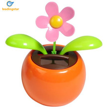 LeadingStar Solar Dancing Flower Assorted Colors Great as Gift or Decoration zk 15