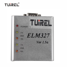 ELM 327 1.5V USB CAN-BUS Scanner ELM327 Software Auto Diagnostic Trouble Code Scanner(China)