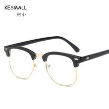 KESMALL New Vintage Prescription Glasses Women Ultra-light Optical Eyeglasses Men Gaming Eyewear Frames With Myopia Lens XN572P(China)