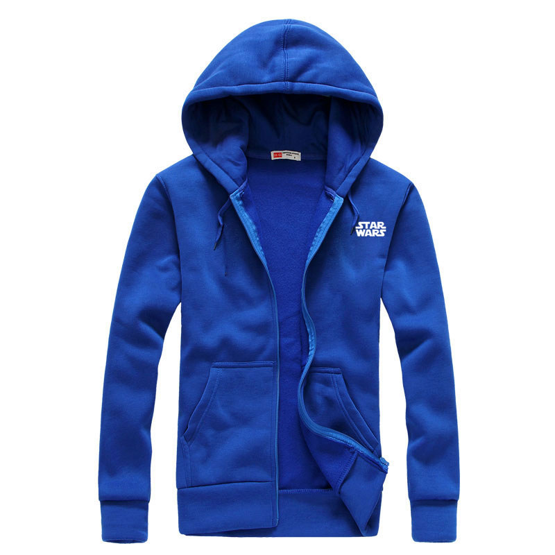 BAIJOE Men Hoodies Star Wars Long Sleeve Fashion Hoodie Men Jacket Coat Brand Sweatshirt Casual zipper Hoody Hombre Masculino