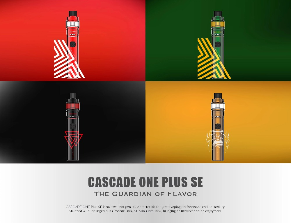 New Arrival Electronic Cigarette Kit Original Vaporesso Cascade One Plus SE Kit 3000mAh Battery 6.5ml All in One Pen Vape Kit (1)