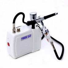 Dual Action Airbrush Kit Pen Body Paint Makeup Spray Gun Compressor Kit for body Makeup Manicure Craft Cake Model Air Brush Nail