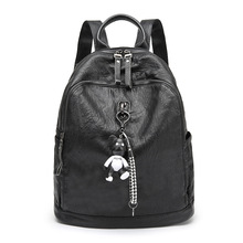 2017 new korean backpack fashion large capacity pink backpacks for women preppy style girls school bags campus students backpack