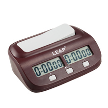 New Arrival LEAP Digital Chess Clock Count Up Down Timer Electronic Board Game Player Set Portable Handheld Man Piece Master
