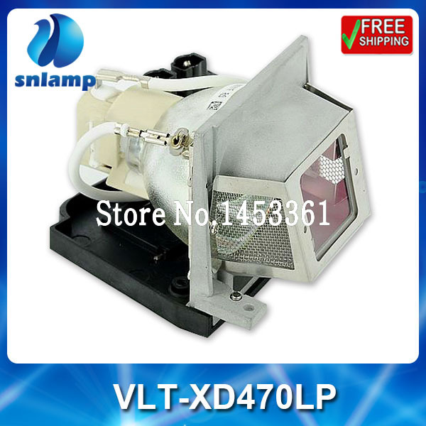 Alibaba aliexpress compatible  projector bulb lamp VLT-XD470LP for XD470 XD470U<br><br>Aliexpress