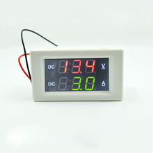 DC  100V20A    Digital Voltmeter Ammeter DC VOLT AMP Tester Gauge with red and green Led  independent power supply