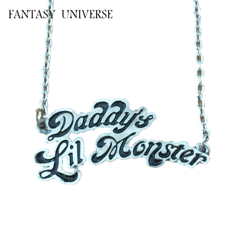 FANTASY UNIVERSE Freeshipping 20pcs a lot Harley Quinn necklaces JQWYXL02