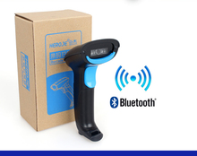 Heroje H220B CCD Image Bluetooth Barcode Reader for Android IOS Mobile Payment PC Screen Bluetooth 1D Bar Code Scanner Wireless