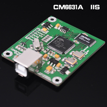 CM6631A DAC Board Digital Interface card USB To IIS SPDIF Output 24Bit 192K Amplifier Board