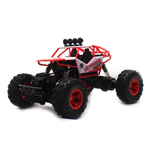 2.4G 4WD Electric RC Car Rock Crawler Remote Control Toy Cars On The Radio Controlled 4x4 Drive Toys For Boys Kids Gift 6255(China)