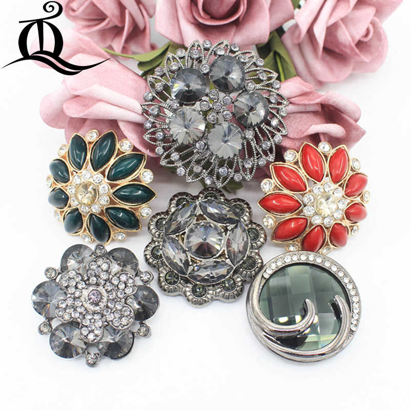 1pcs 38-51mm Gold diamond Vintage Antique Metal Blazer Button Rhinestone  buttons. big with 61ef1b91acb1
