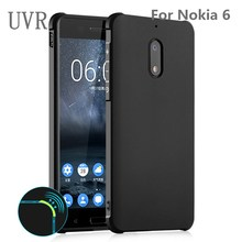 UVR For Nokia 6 Six Case Soft Silicon TPU Cover Case For Nokia6 Full Protective Armor Shockproof Case Silicone(China)