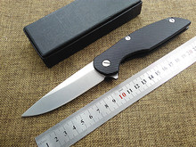 Hot tactical folding knife D2 blade G10 handle camping hunting survival pocket knife utility outdoor hand tools F111