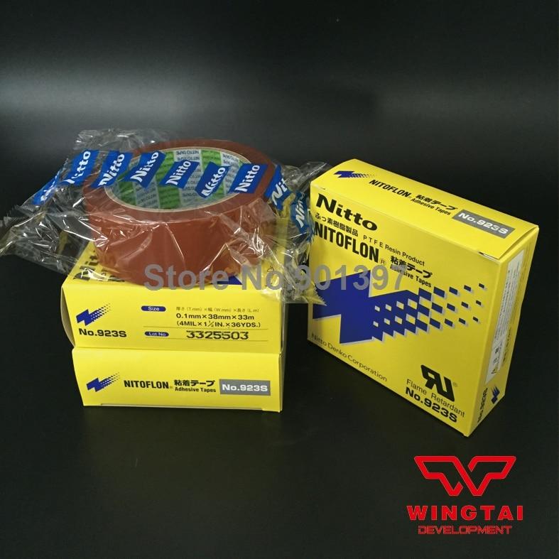 3 pcs /lot  T0.10mm*W38mm*L10m NITTO DENKO 923S  Nitoflon Heat Sealing Tape 923S<br><br>Aliexpress