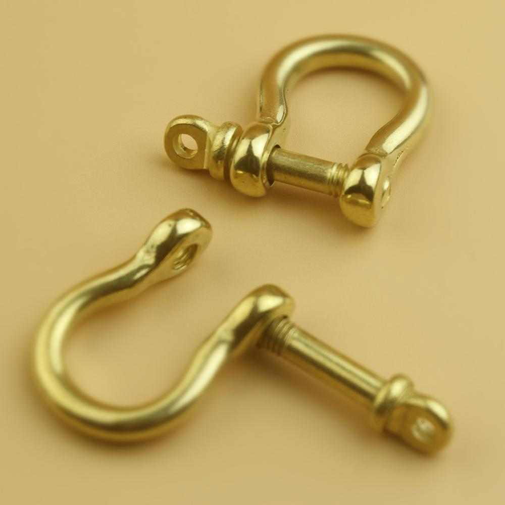 Brass Horseshoe Belt Buckle DIY Leathercraft Metal Accessories 411