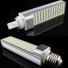 FREE SHIPPING!! LED Corn Bulb E27 G24 SMD5050 LED Light 180 degeree AC85-265V 9W 12W 13W 15W 16W LED Horizontal Plug Lamp(China)