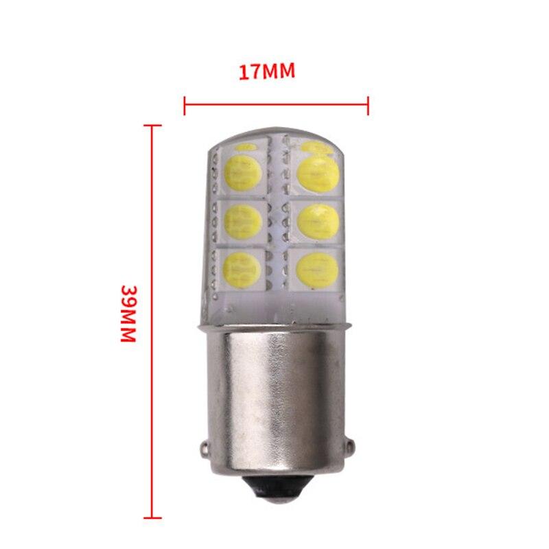 1pcs-S25-1156-BA15S-p21w-LED-White-Lights-5050-12SMD-Silica-gel-DC-12V-Car-Rear (1)
